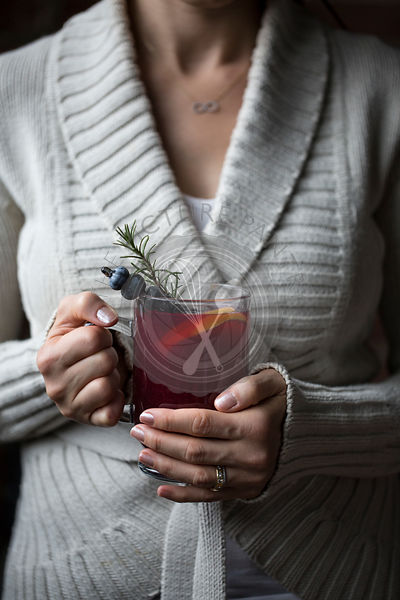 Blueberry Hot Toddy