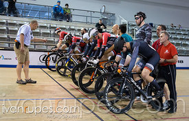 Men Keirin 1-6 Final, 2017/2018 Track Ontario Cup #3, Mattamy National Cycling Centre, Milton On, February 10, 2018