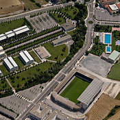 Pamplona aerial photos