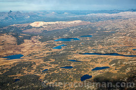 718 Aerial of Lake Regions of Beartooth Mountains