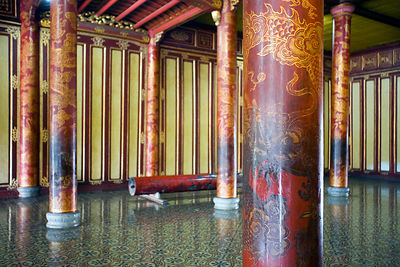 The Throne Room in Thai Hoa Palace