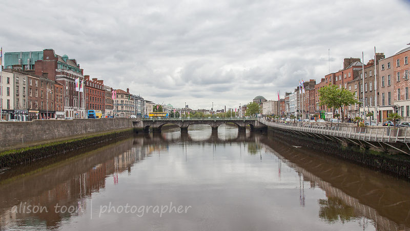 Bridge over the Liffey, Dublin, Ireland
