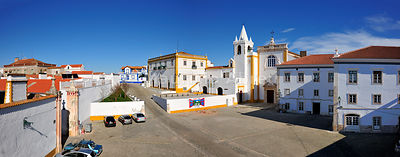The historical village of Avis, Alentejo. Portugal