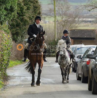 The Belvoir Hunt at Hose 15/2 photos