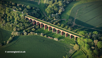 Marefield Viaduct Leicestershire