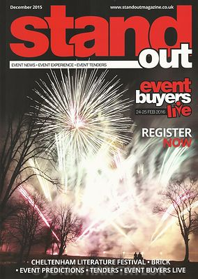 Stand Out magazine - December 2015 - front cover