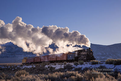 Nevada Northern Railway Locomotive #40