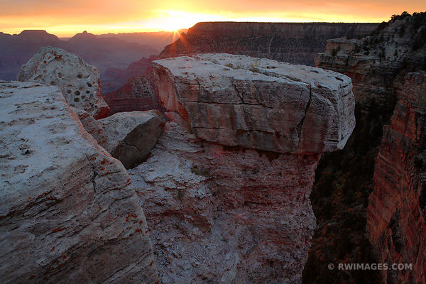 SUNRISE SOUTH RIM GRAND CANYON NATIONAL PARK ARIZONA