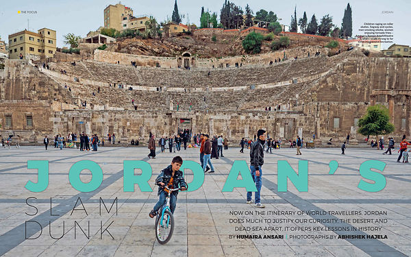 National Geographic Traveller, Jordan Coverage, March 2018 photos