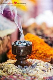 Frankincense and spices at Dubai souq, United Arab Emirates