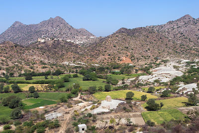 The bucolic splendor of Rajgarh village near Pushkar, India