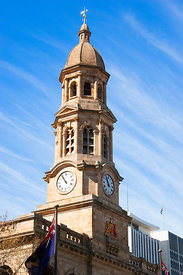 Adelaide Town Hall clock