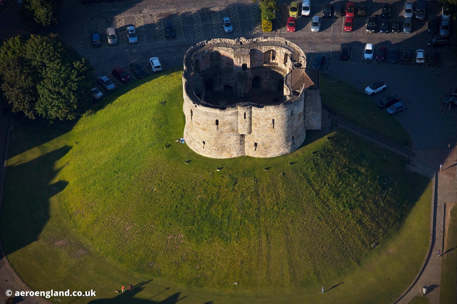 Clifford's Tower, York Castle, York