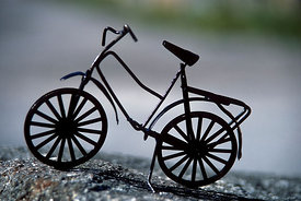 Miniature of bycicle, France