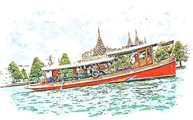 Bangkok_river_Tour_pretty_day_illustration