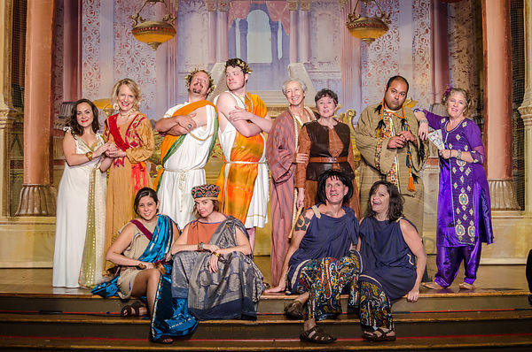 The Cast of A Comedy of Errors