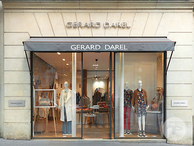 GERARD DAREL Rue Royale Paris photos