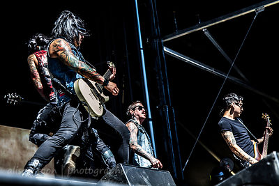 Escape the Fate, Aftershock 2014