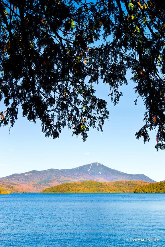 ADIRONDACKS MOUNTAINS LAKE PLACID UPSTATE NEW YORK