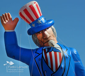 Uncle Sam in Erie Memorial Day Parade