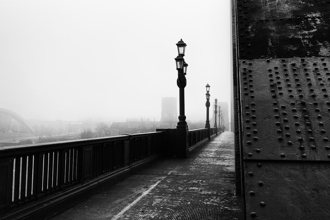 Foggy Tyne Bridge