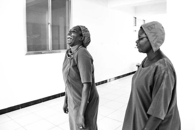 Clinical nurses, Shinyanga District Hospital, northern Tanzania (for the Touch Foundation.)