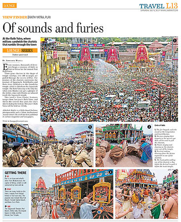 Puri Rath Yatra in Live Mint-e-Paper---HT Mint---6-Jul-2013 photos
