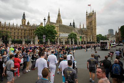 Paralympic Flame by Parliament
