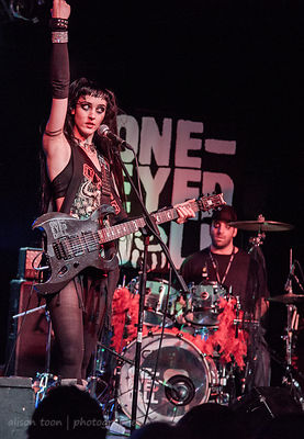 SACRAMENTO, CA - March 8: One-Eyed Doll, performing at the Ace of Spades, Sacramento CA, on March 8th 2013.