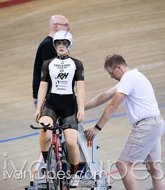 U17 Women Individual Pursuit Final. Canadian Track Championships (U17/Junior/Para), March 31, 2017