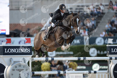 Jeroen DUBBELDAM ,(NED), CLASSIC MAN V during Longines Cup of the City of Barcelona competition at CSIO5* Barcelona at Real Club de Polo, Barcelona - Spain