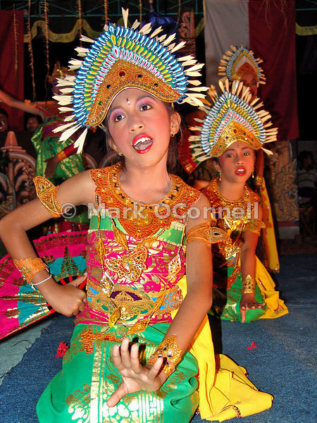 Bali national day dancing