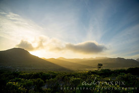 Silvermine at sunset