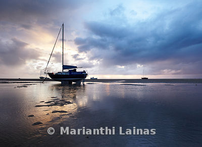 Boats at Meols II