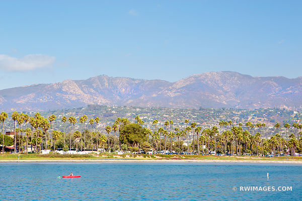 SANTA BARBARA CALIFORNIA COLOR LANDSCAPE