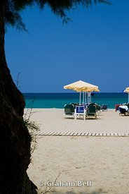 platanas beach, rethymnon, crete, greece