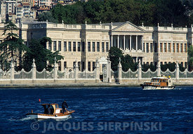 Turquie, Istanbul, palais de Dolmabahce