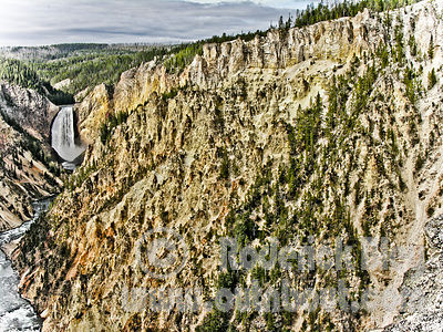 Lower Falls - Yellowstone (HDR)