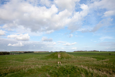 UK - Wiltshire - The Cursus Barrows at Stonehenge