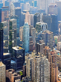 Architect Norman Foster  Hearst Tower New York City