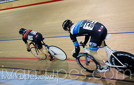 Master Men Sprint Semifinal. Track O-Cup #2, Milton, On, March 28, 2015
