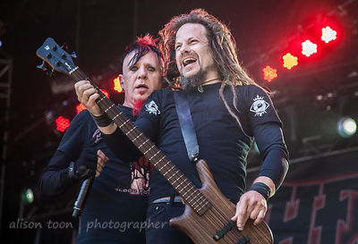Chad Gray and Kyle Sanders, Aftershock 2014