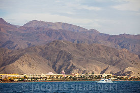 Egypte, Mer Rouge, Taba Heights