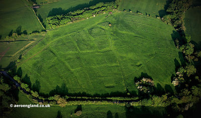 Ingarsby  deserted medieval village (DMV) Leicestershire