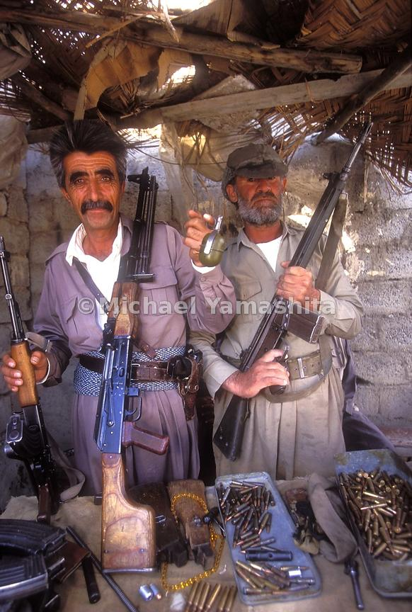 Wepons Bazaar-mostly small arms, grenades and rockets(used for river fishing they say.)  Guns are everywhere in Kurdistan, many men carry them openly on the streets.