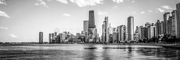Chicago Skyline Panorama Photo