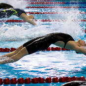 Women 18 & Under 200 SC Meter Backstroke Preliminaries, Ontario Junior International, Toronto Pan Am Sports Centre; December 6, 2015