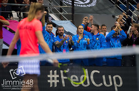 Fed Cup Final 2017, Minsk, Belarus - 12 Nov
