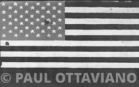 Stars and Stripes in Black and White | Paul Ottaviano Photography