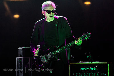 Chris Stein, guitar, Blondie, TBD Fest, Sacramento 2014